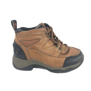 Ariat Hiking Boots Boys Size 12.5 12 1/2 Brown